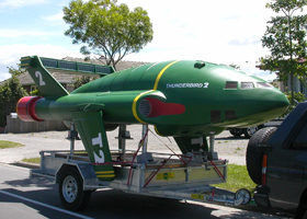 Model of Thunderbird 2